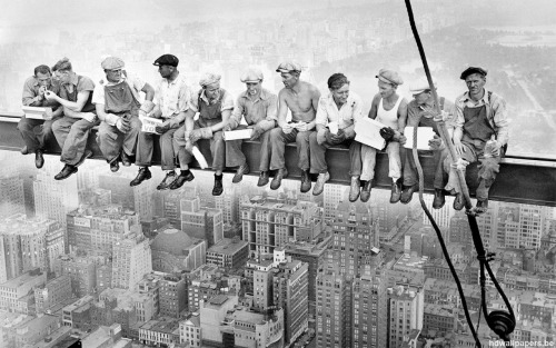 Lunch atop a Skyscraper by Charles C. Ebbets