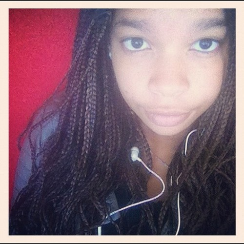 #tbt#miss#my#braids#african#bigeyes#music#iphone#criola#red#instaporn#white#gothenburg#sweden#2012  (Taken with Instagram)