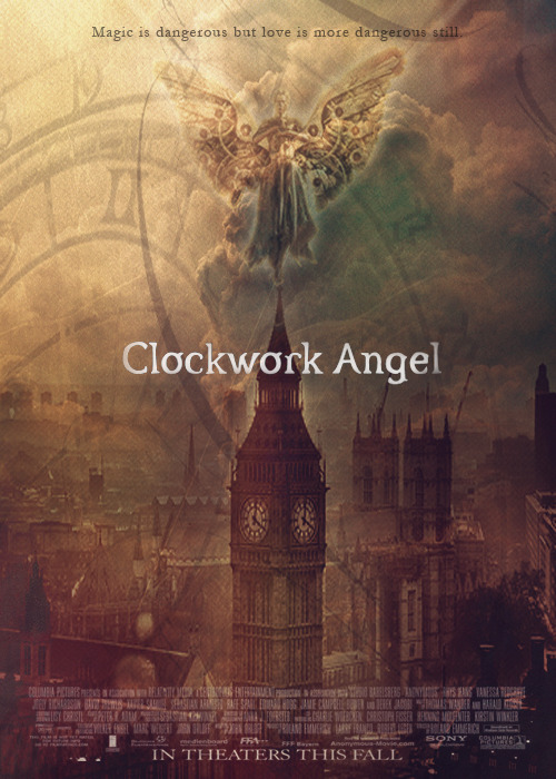 the-manila-institute:   Fanposter for Clockwork angel by Cassandra Clare