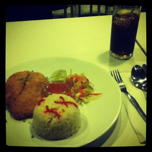 iftar day 2 #iftar #fasting #food #dish #dinner (Taken with Instagram at AH Restaurant)