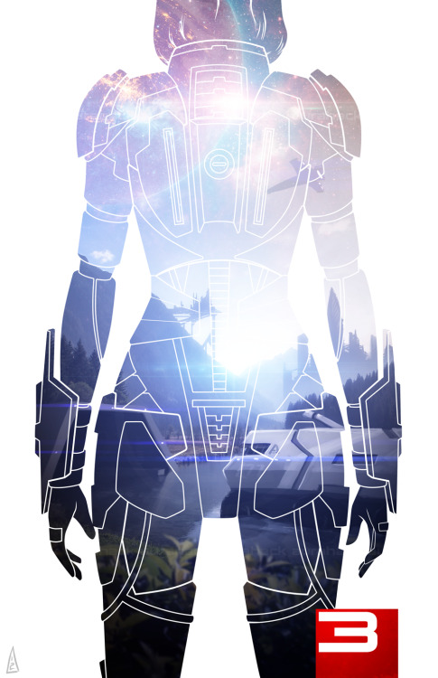 graufox:  Mass Effect 3 | Found on Reddit | Artist: aurahack.