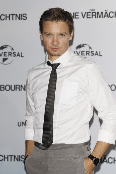 My personal favorite from The Bourne Legacy photocall in Germany. Also - happy Rennsday, everybody!