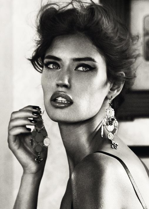 Bianca Balti is, in my opinion, the most beautiful woman in the world.
