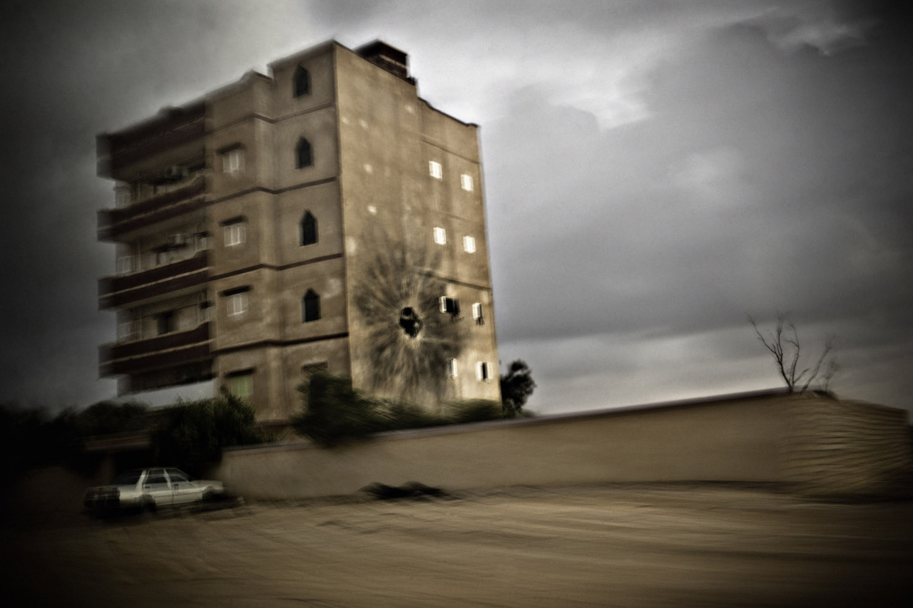 April 1, 2011. Between Ajdabiya and Brega, Libya.  Revolutions, a book featuring the work of war photographer Rémi Ochlik, who was killed this spring in Syria, has just been published by Emphas.is. LightBox presents images from the book taken during conflicts in Tunisia, Libya, Egypt and Syria.  See more photos here.