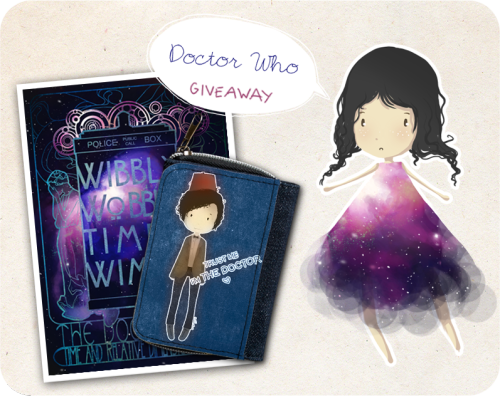 koroa:   Small DOCTOR WHO GIVE AWAY!  The 7th season looks great so far, and I'm in very Who-mood. So I decided to do a small Doctor Who giveaway ( stuff is from my ETSYshop )…  RULES: I'll choose one winner (you'll receive a 11th Doctor fabric wallet and a small print) Reblog just ONCE (you don't have to be following me) Likes count Please make sure your ask box is open so I can contact you if you win I'll send worldwide The winners will be picked randomly, using a random number generator September 22th 2012. good luck :)