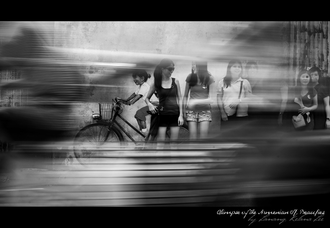 Glimpse of The Armenian St. Beauties 8th July 2012 | Penang, Malaysia Nikon D700 | Nikkor 28-100 mm | HL-Optics 62mm Nature Fader ND [W]  ISO100 | 28mm | f/13 | 1/10s post processing with & ACDSee Pro 5