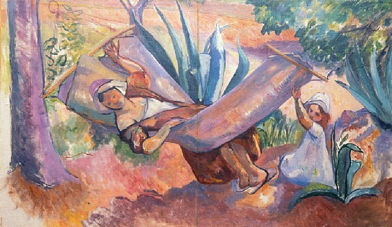 Henri Manguin (French, 1874–1949) - Le Hamac, 1913