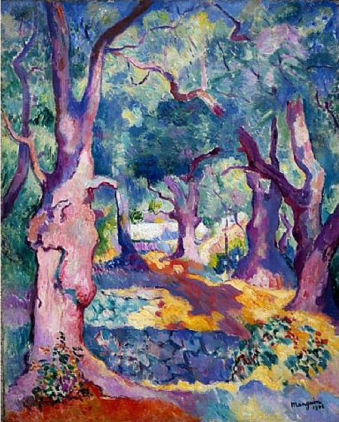 Henri Manguin (French, 1874–1949) - Olive Trees in Cavaliere, 1906