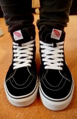 New shoes! I love Vans ♥