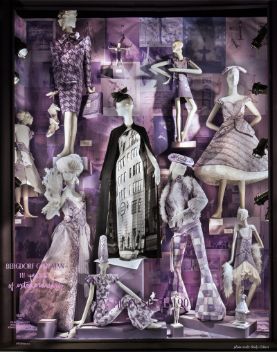 bergdorfgoodman:  On Fifth Avenue: 111 Years of Fashion featuring paper sculptures by Mark Gagnon and Samantha Smith. Photography: Ricky Zehavi
