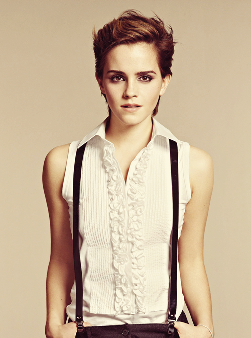 You know, Ms. Watson, I don't really enjoy suspenders most of the time, and I wouldn't have worn them with that shirt, but clearly, I have some learning to do.