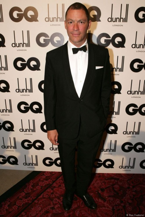 The Hour's Dominic West at the GQ Men Of The Year Awards 2012 in London last evening.