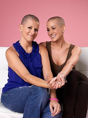 """Cancer does not discriminate. If this compels even one person to change their mentality toward waiting until the age of 40 for their mammogram, then it will be worth it.""  - Kellie Pickler, after shaving her head in support of her best friend, Summer Holt Miller, who was diagnosed with breast cancer, in a statement"