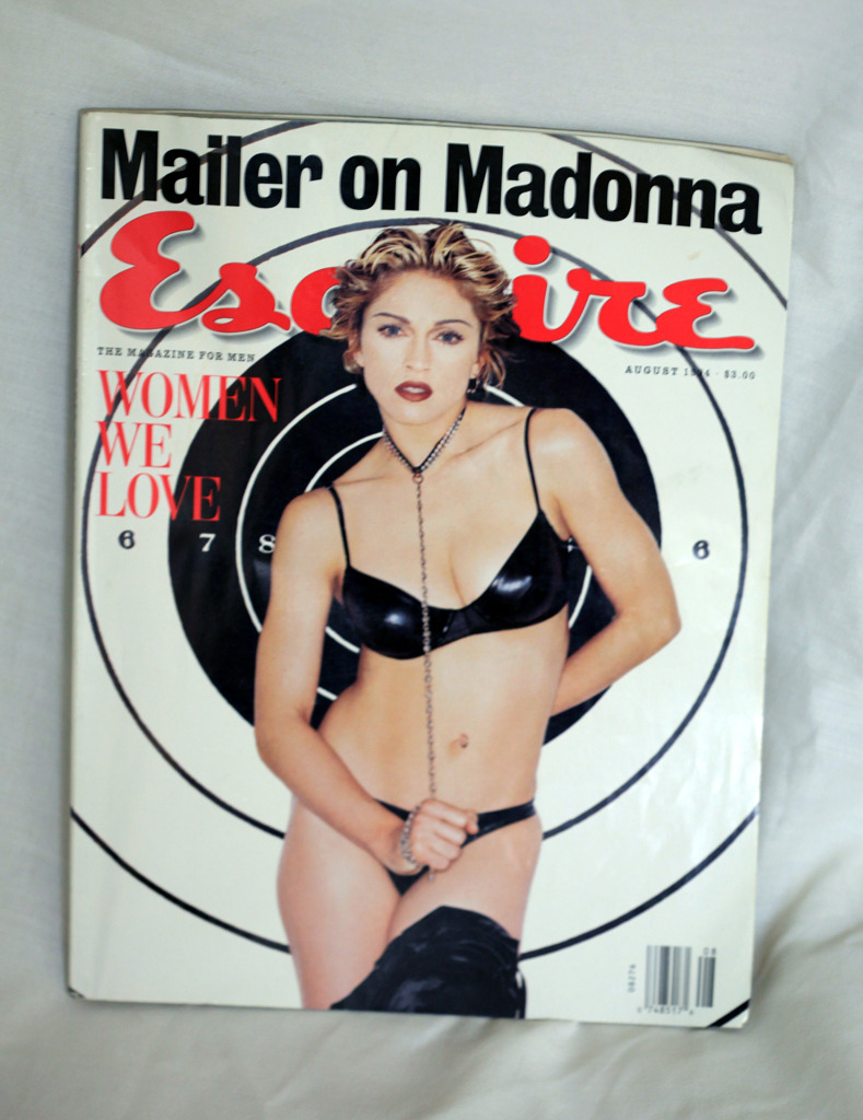Madonna in Esquire Magazine from August 1994