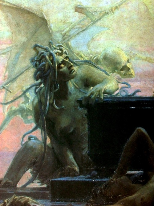 Maximilian Pirner (1854-1929) - Finis (detail), 1887      Paintings