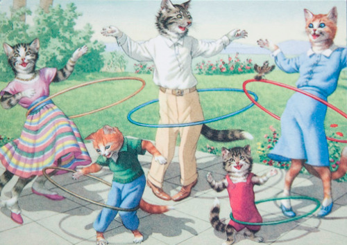 emifail:  the dad cat is like THE FUCK ARE WE DOING HULLAHOOPING WE'RE CATS? ??? ??/ WHAT and the mom s like I DONT GET IT EITHER BUT WHO GIVES A SHIT