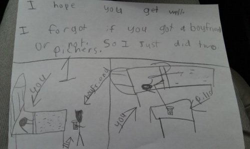 10 UNINTENTIONALLY HILARIOUS KIDS' DRAWINGS (Click for more)