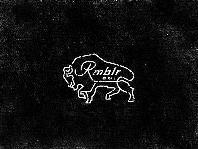 (via Dribbble - Rmblr Buffalo by Keith Davis Young)