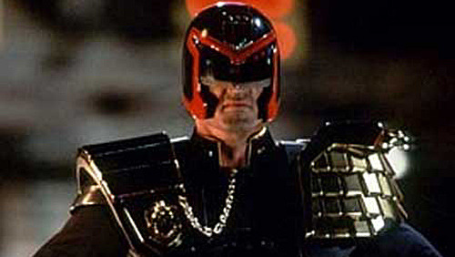 Stop press: Judge Dredd is a good film! With Dredd in cinemas this weekend, it's time to reappraise Stallone's version