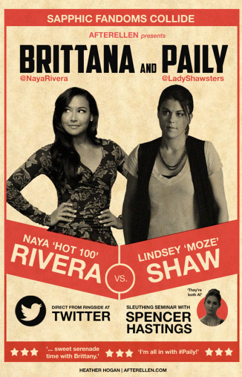 Naya Rivera vs. Lindsey Shaw: Who's the better lesbian shipper?
