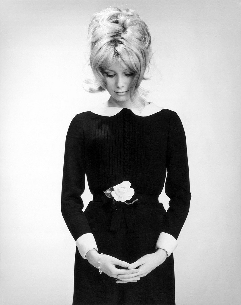 zipadoowah:  Catherine Deneuve in 1961