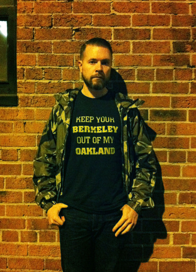 KEEP YOUR BERKELEY OUT OF MY OAKLAND shirt by Donuts And Coffees. Check them out on instagram (@donutscoffees) & bigcartel