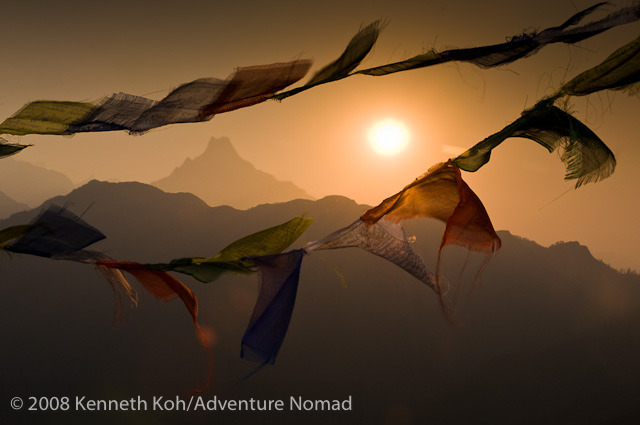 Prayer Flags Wave in the Sun, Nepal | Daily Dose of Daylight | www.ciralight.com