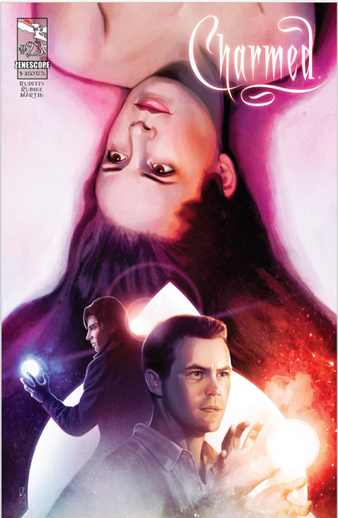 Charmed #23 - The Darklight Zone  Released today! :D Get it digitally on Graphicly.com or Comixology.com =]
