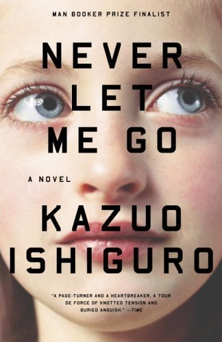 Currently reading: Never Let Me Go by Kazuo Ishiguro I managed to lose or misplace my copy of Mr. Peanut, which is a shame because I was actually enjoying it, much more so than I was Naked.
