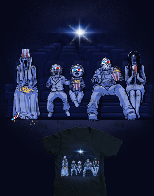 threadless:  3D Horror Movie by dandingeroz