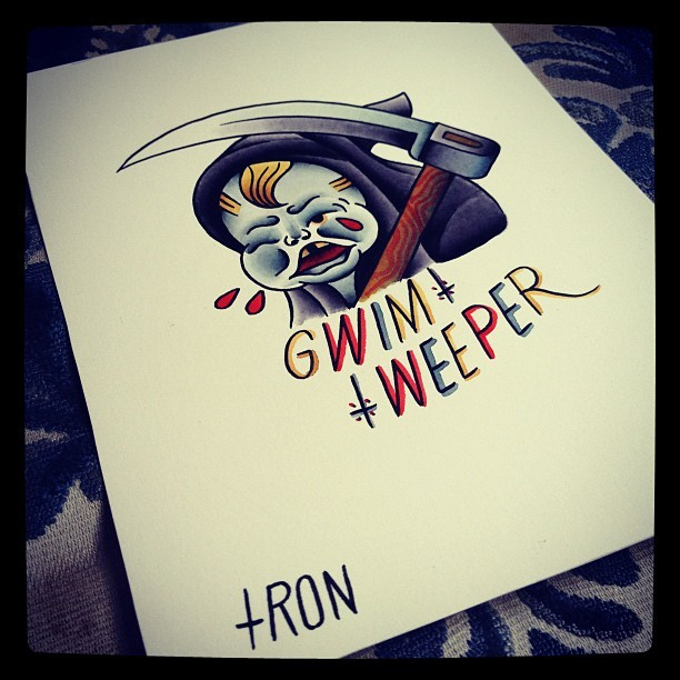 You and me @antoniorules ! Weeper Cult. Get ready!  Tron/TTW