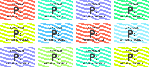 Announcing Lowercase P: Artists & Politics, a new series I'm heading up at the Walker on artists, personal politics, and social change. Running between now and Election Day, it'll feature conversations with Paul Chan, JoAnn Verburg, Trevor Paglen, Fritz Haeg, Eyal Weizman, Emmet Byrne, Laurie Anderson and others.
