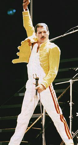 Happy Birthday to one of the GREATEST front-men of all time, Freddie Mercury.