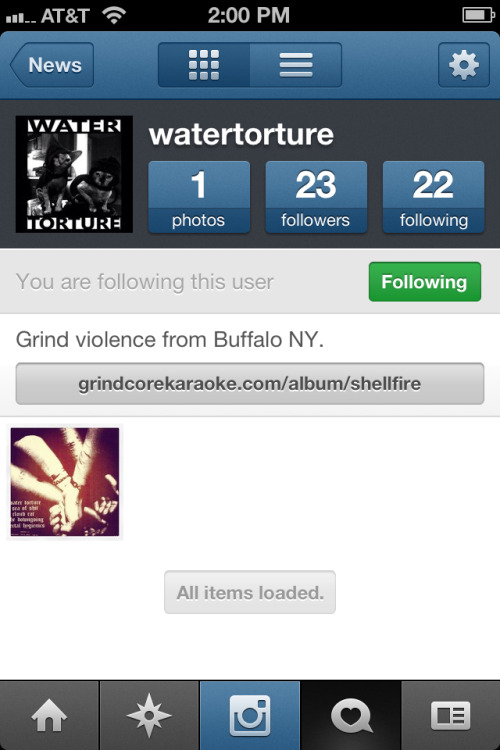@watertorture Instagram. For flyers, tour pics, recording shots, and noodes.
