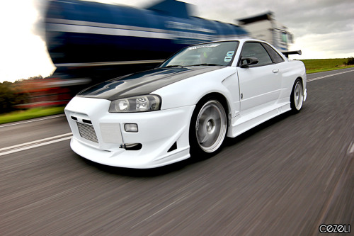 Teaser shot Car: R34 Nissan Skyline Location: Co. Tyrone, UK