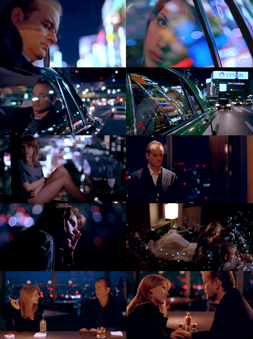"Lost in Translation (2003) BY ROGER EBERT / August 4, 2010 Bill Murray's acting in Sofia Coppola's ""Lost in Translation"" is surely one of the most exquisitely controlled performances in recent movies. Without it, the film could be unwatchable. With it, I can't take my eyes away.  Not for a second, not for a frame, does his focus relax, and yet it seems effortless. It's sometimes said of an actor that we can't see him acting. I can't even see himnot acting. He seems to be existing, merely existing, in the situation created for him by Sofia Coppola. Is he ""playing himself""? I've known Murray since his days at Second City. He married the sister of a girl I was dating. We were never friends, I have no personal insights, but I can fairly say I saw how he behaved in small informal groups of friends, and it wasn't like Bob Harris, his character in the movie. Yes, he likes to remain low key. Yes, dryness and understatement come naturally to him. Sharing a stage at Second City with John Belushi, he was a glider in contrast to the kamikaze pilot. He isn't a one-note actor. He does anger, fear, love, whatever, and broad comedy. But what he does in ""Lost in Translation"" shows as much of a reach as if he were playing Henry Higgins. He allows the film to be as great as Coppola dreamed of it, in the way she intended, and few directors are so fortunate. She has one objective: She wants to show two people lonely in vast foreign Tokyo and coming to the mutual realization that their lives are stuck. Perhaps what they're looking for is the same thing I've heard we seek in marriage: A witness. Coppola wants to get that note right. There isn't a viewer who doesn't expect Bob Harris and Charlotte (Scarlett Johansson) to end up in love, or having sex, or whatever. We've met Charlotte's husband John (Giovanni Ribisi). We expect him to return unexpectedly from his photo shoot and surprise them together. These expectations have been sculpted, one chip of Hollywood's chisel after another, in tens of thousands of films. The last thing we expect is… what would probably actually happen. They share loneliness.One of the strengths of Coppola's screenplay is that her people and everything they do are believable. Unlike the characters in most movies, they don't quickly sense they belong together, and they don't immediately want to be together. Coppola keeps them apart for a noticeably long time. They don't know they're the Girl and the Boy. They don't have a Meet Cute. We grow to know them separately. We understand Charlotte loves her husband, and we understand how he wounds her, and why she cries on the phone. There's no possibility he will cheat on her with the Other Woman, the ditzy ""star"" Kelly, played by Anna Faris. John is simply a moth fluttering around her fame. That's what hurts Charlotte; he leaves her alone in the hotel for silly reasons that betray him as callow. We understand that Bob loves his wife and especially his children at home in America, but after years and years he knows and says that marriage and children are ""hard."" So they are. We know that. Few movie characters know it in the sense he means. After they start talking, Johansson is instinctive in striking the right note of tentative friendliness. She knows Bob is a star, but doesn't care. Earlier their eyes met in the kind of telepathic sympathy strangers share when they know they're thinking the same thing about something happening in a room. Now they can't sleep and it's in the middle of the night in a hotel bar. She isn't flirting, and she isn't not flirting. He isn't flirting. He's composed and detached. He doesn't give away one hint of emotion. Without making it a big deal, he's almost studiously proper, as if making it clear he's notcoming on to her. Of course he finds her attractive. He did when he saw her in the elevator and she didn't notice him. Or are we simply assuming he'd feel the same way we'd feel? Maybe he noticed her because they were the two tallest people in the elevator.I can't tell you how many people have told me that just don't get ""Lost in Translation."" They want to know what it's about. They complain ""nothing happens."" They've been trained by movies that tell them where to look and what to feel, in stories that have a beginning, a middle and an end. ""Lost in Translation"" offers an experience in the exercise of empathy. The characters empathize with each other (that's what it's about), and we can empathize with them going through that process. It's not a question of reading our own emotions into Murray's blank slate. The slate isn't blank. It's on hold. He doesn't choose to wear his heart on his sleeve for Charlotte, and he doesn't choose to make a move. But he is very lonely and not without sympathy for her. She would plausibly have sex with him, casually, to be ""nice,"" and because she's mad at her husband and it might be fun. But she doesn't know as he does that if you cheat it shouldn't be with someone it would make a difference to.There is wonderful comedy in the film, involving the ad agency's photo shoot for the Suntory Scotch commercial and Bob's guest shot on the ""Japanese Johnny Carson."" But Coppola remains firmly grounded in reality. The Japanese director seems to be spouting hysterical nonsense until you find a translation online and understand what he's saying and why. He's not without humor. The translator seems to be simplifying, but now we understand what she's doing. There's nothing implausible about the scene. Anyone who watches Japanese TV, even via YouTube, knows the TV show is straight from life. Notice the microscopic look Murray gives the camera to signal ""just kidding.""What is lost in translation? John understands nothing of what Charlotte says or feels, nor does he understand how he's behaving. (Ribisi's acting in the scene where he rushes out saying he loves her is remorselessly exact). Bob's wife and assistant don't understand how desperately indifferent he is to the carpet samples. And so on. What does get translated, finally, is what Bob and Charlotte are really thinking. The whole movie is about that act of translation taking place. The cinematography by Lance Acord and editing by Sarah Flack make no attempt to underline points or nudge us. It permits us to regard. It is content to allow a moment to complete itself. Acord often frames Charlotte in a big window with Tokyo remotely below. She feels young, alone and exposed. He often shows Bob inscrutably looking straight ahead (not at the camera; not at anything). He feels older, tired, patient, not exposed because he has a surer sense of who he is. That's what I read into the shots. What do you get? When he brings them together they are still apart, and there is more truth in a little finger touching the side of a foot than a sex scene.Catherine Lambert, who plays the singer in the hotel bar, is every pretty good lounge act in the world. It's more or less a foregone conclusion that they will sleep with one another. In won't mean anything to either one of them. When Charlotte discovers the singer is in Bob's room, she's startled but not angry or heartbroken. Sex wasn't what she and Bob were about, and he made that clear. When they meet next, they step carefully around that glitch and resume their deeper communication.So much has been written about those few words at the end that Bob whispers into Charlottes' ear. We can't hear them. They seem meaningful for both of them. Coppola said she didn't know. It wasn't scripted. Advanced sound engineering has been used to produce a fuzzy enhancement. Harry Caul of ""The Conversation"" would be proud of it, but it's entirely irrelevant. Those words weren't for our ears. Coppola (1) didn't write the dialog, (2) didn't intentionally record the dialogue, and (3) was happy to release the movie that way, so we cannot hear. Why must we know? Do we need closure? This isn't a closure kind of movie. We get all we need in simply knowing they share a moment private to them, and seeing that it contains something true before they part forever."