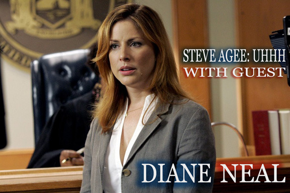 steveagee:  Diane Neal has played Assistant D.A. Casey Novak on Law & Order SVU in over 100 episodes. She also survived a plane crash that killed over 30 people. She's also on the latest episode of my podcast Steve Agee: Uhhh
