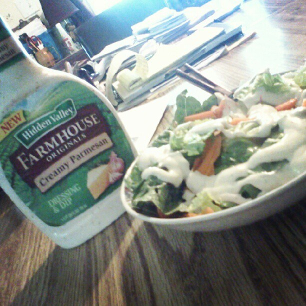 #yum #salad  (Taken with Instagram)