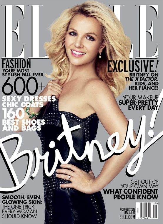 sony-music:  Britney Spears just posted her cover of Elle Magazine, which hits newstands next week! Looking good, B!