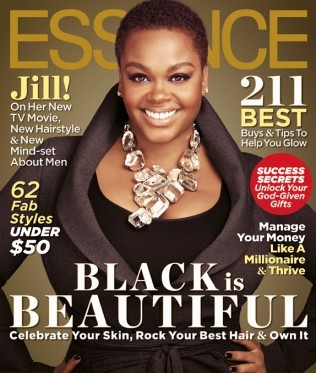 The radiant Miss Jill Scott graces the cover of Essence magazine's October issue.