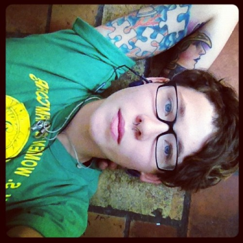 #floorsnugz #queer  (Taken with Instagram at Eternaldeathspiralofdoom)