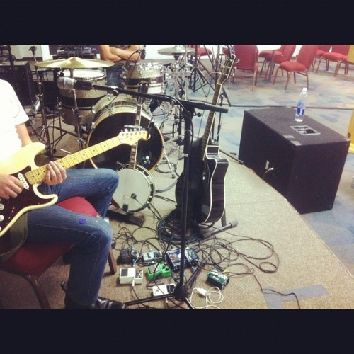 We like to rehearse because we like you  (Taken with Instagram)