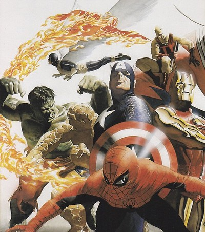 jthenr-comics-vault:  MARVELS by ALEX ROSS