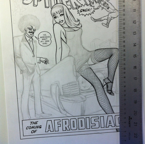 jimrugg:  Coming of Afrodisiac - progress on Flickr.