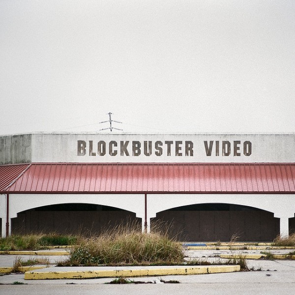 parislemon:  flavorpill:  Photographs of abandoned video stores   Wow, what a difference!