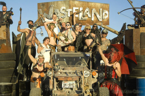 laughingsquid:  Wasteland Weekend 2012, A Post-Apocalyptic, Mad Max Inspired Party  Oh. Yes. This. I'm thinking next year.