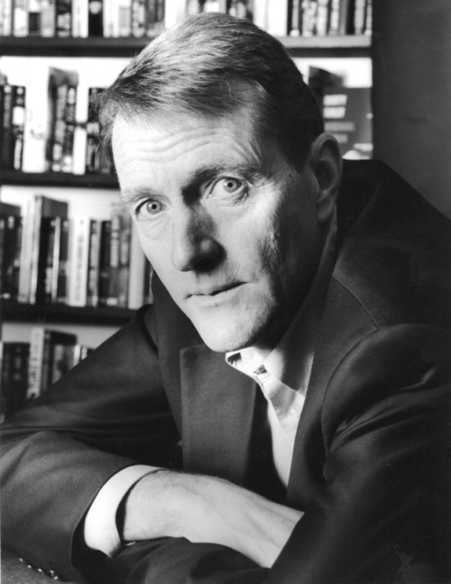 Lee Child, glaring.