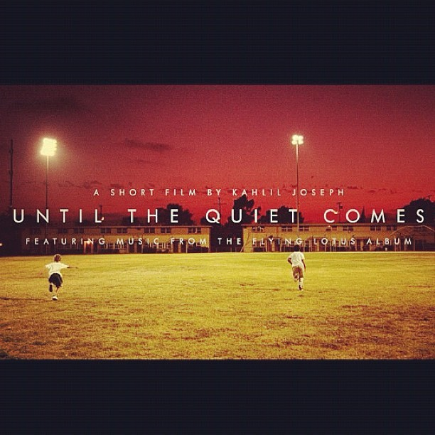 Excited for this. #untilthequietcomes (Taken with Instagram)