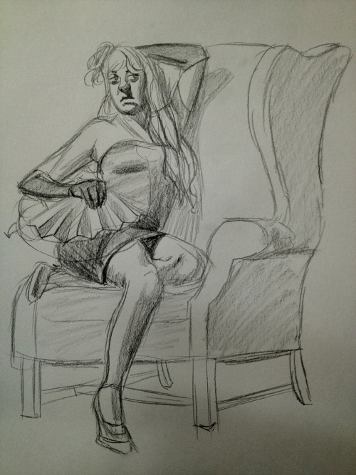 miss-doodles:  AM I GETTING BETTER who knows  My first figure drawing class was today!! this one came out the best yaaaay i can't wait to improve :')