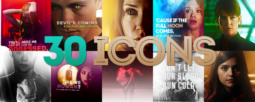+30 icons [Teen Wolf (18), Doctor Who (5), random (8)] {x}